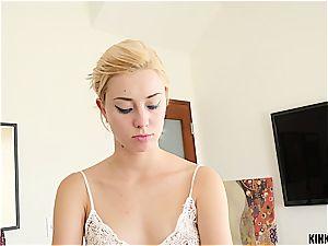 warm stepsister lets her brutha plumb her unshaved vag