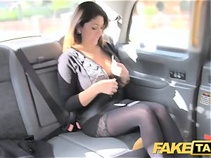 fake cab ample facial cumshot cum shot for brunette in stockings