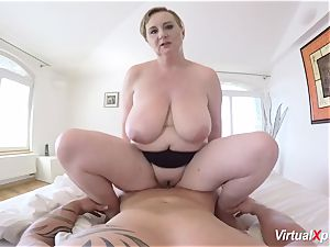 molten pov hook-up with huge-chested stepmom