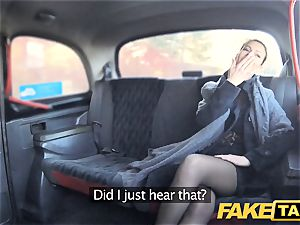 fake taxi Czech lady hankers a rock hard sausage