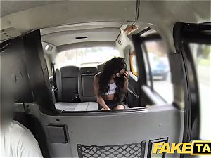 faux taxi fine assets and a violating warm ass
